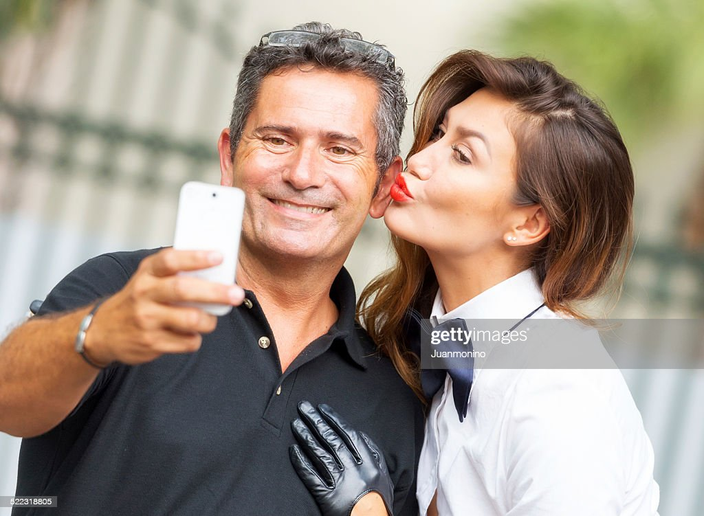 Selfie : Stock Photo