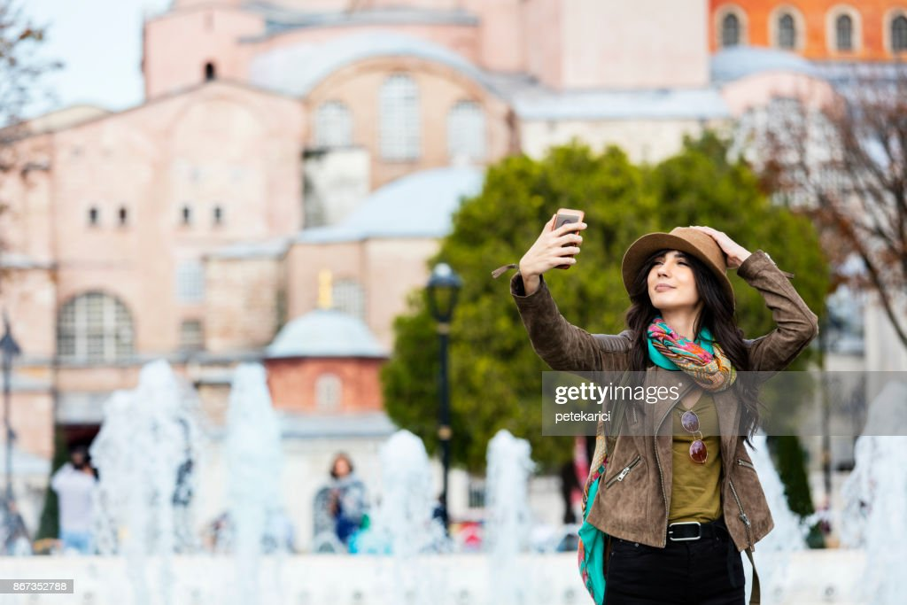 Selfie : Stock Photo