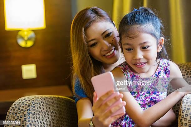 """Selfie """" autorretrato para Asia Madre e hija"""