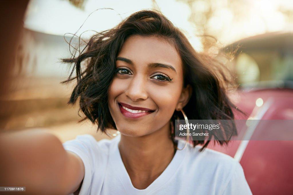 Selfie time : Stock Photo