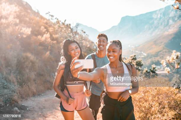 selfie time. - cape town stock pictures, royalty-free photos & images