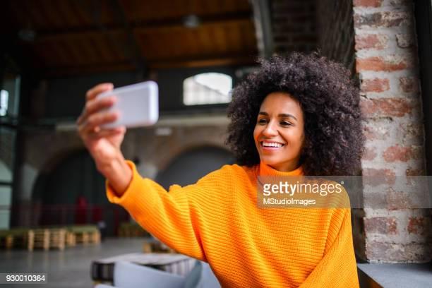 Selfie time.