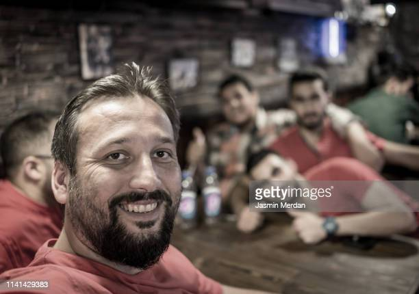 selfie with friends fast food restaurant - jordan middle east stock pictures, royalty-free photos & images