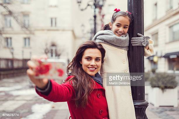 Selfie with my cute daughter