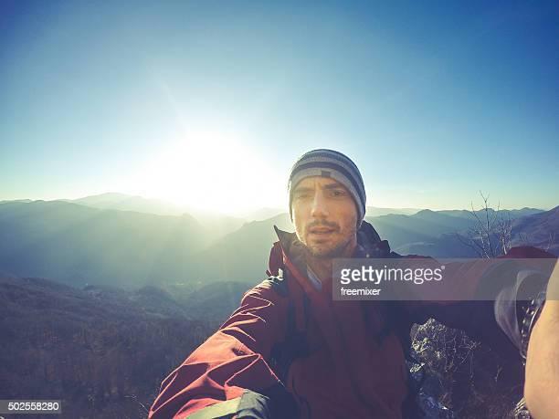 Selfie with sun