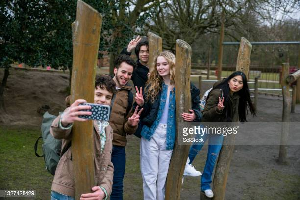 selfies at the structures - alternative pose stock pictures, royalty-free photos & images