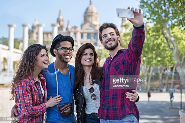 Mentionné les Selfies visite de la ville