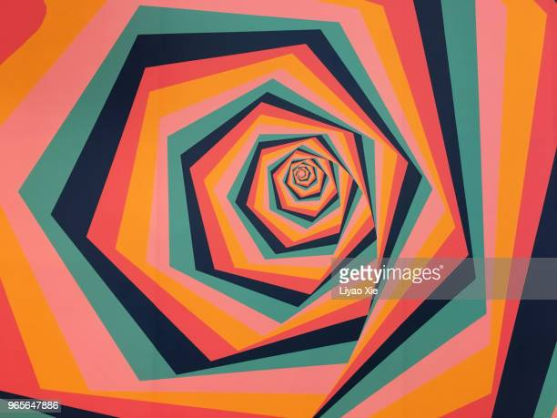 self-made abstract patterns - swirl stock photos and pictures