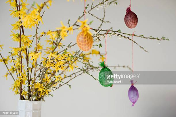 Self-made Easter decoration