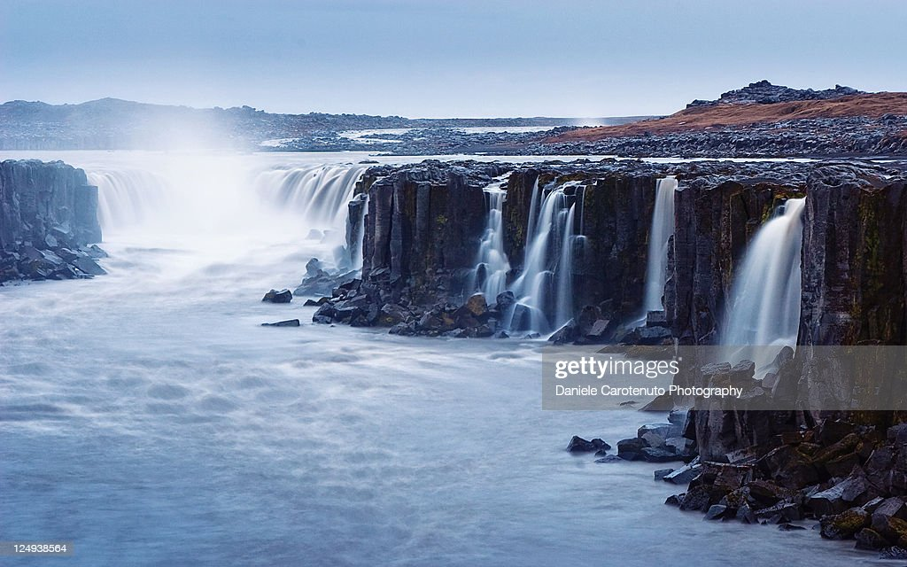 Selfoss : Stock Photo