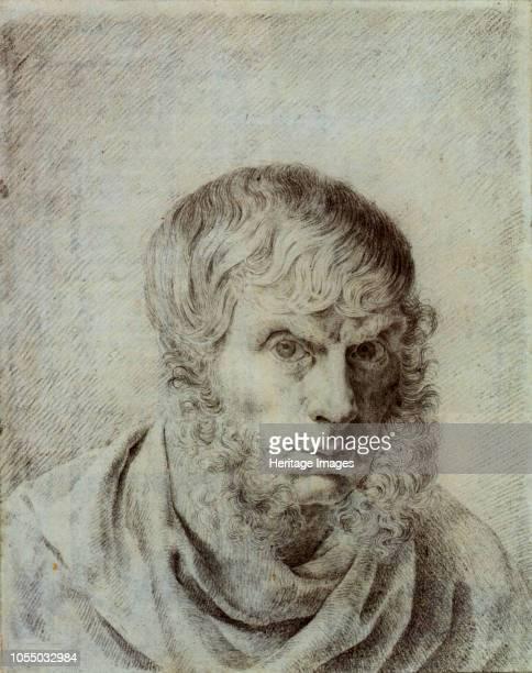 Self-Portrait, 1810. Found in the Collection of Staatliche Museen, Berlin. Artist Friedrich, Caspar David .