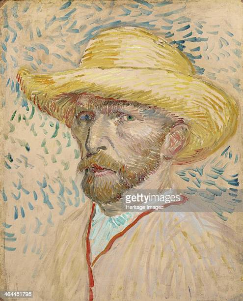 Selfportrait 1887 Found in the collection of the Van Gogh Museum Amsterdam