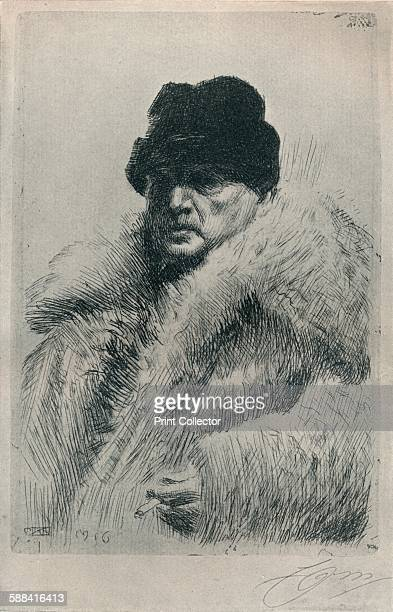 SelfPortrait' 1916 From The Studio Volume 68 Artist Anders Leonard Zorn