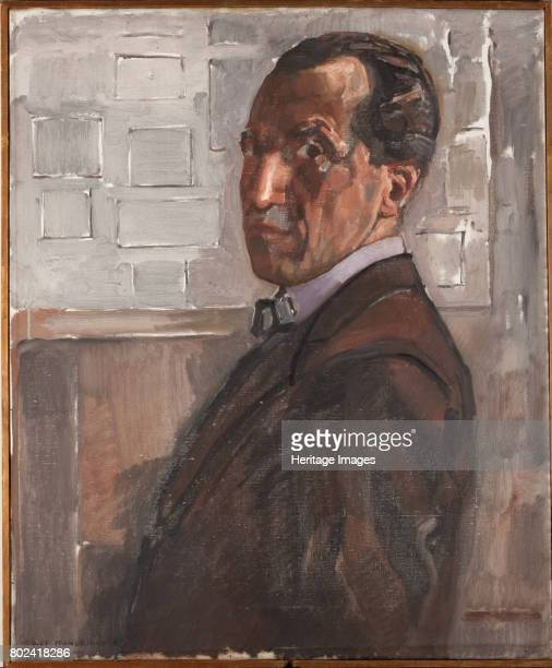 Selfportrait 1918 Found in the collection of Gemeentemuseum Den Haag