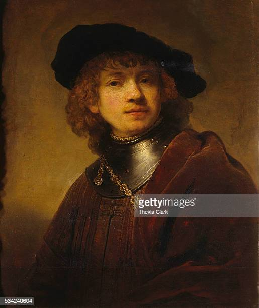 SelfPortrait as a Young Man by Rembrandt van Rijn