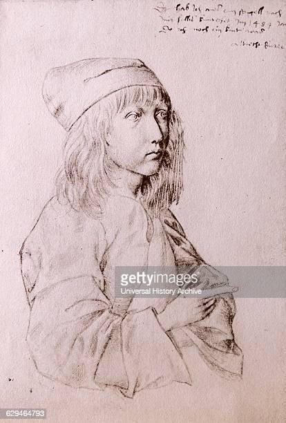 Selfportrait by Albrecht Dürer painter printmaker and theorist of the German Renaissance Dated 16th Century