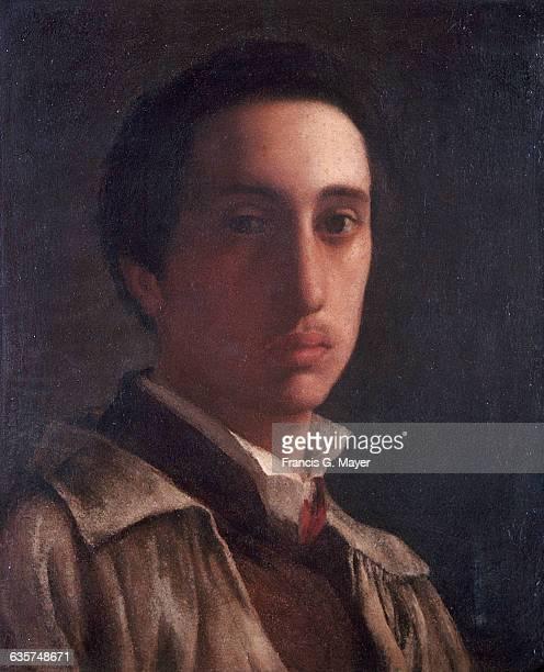 SelfPortrait by Edgar Degas