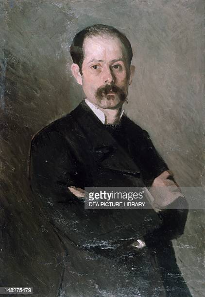 Selfportrait by Ioan Andreescu