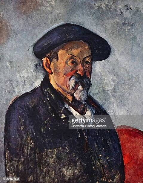 Selfportrait by Paul Cezanne a French artist and postimpressionist painter Dated 20th Century