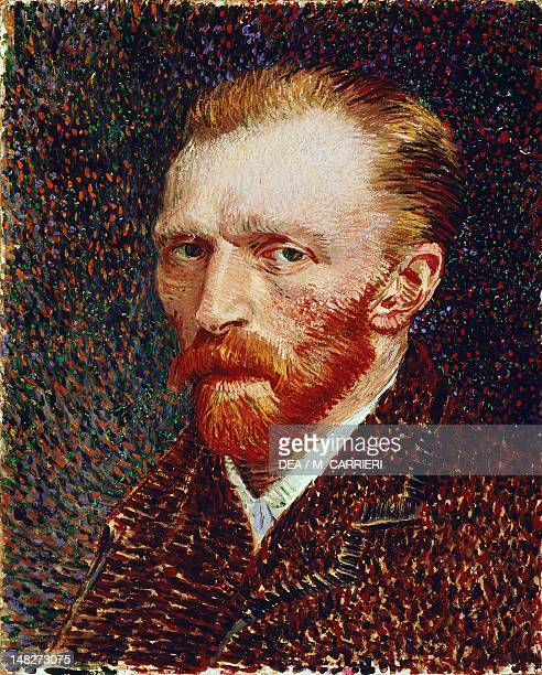 SelfPortrait by Vincent van Gogh oil on canvas 42x34 cm Chicago Art Institute Of Chicago