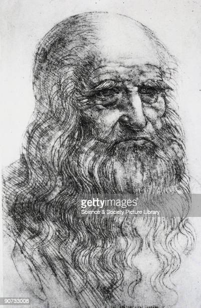 Leonardo Da Vinci Self Portrait Stock Photos And Pictures