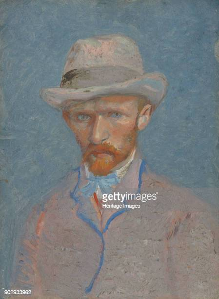SelfPortrait Found in the Collection of Van Gogh Museum Amsterdam