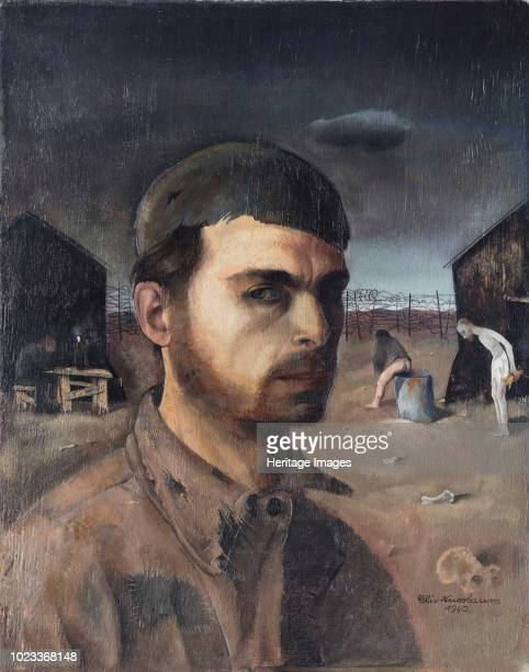 SelfPortrait in the Camp 1940 Found in the Collection of Neue Galerie New York