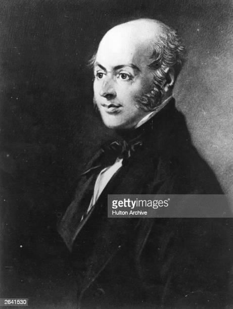 Self-portrait of John Constable English landscape painter.