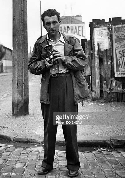 Selfportrait of Robert Doisneau 1949 in Villejuif France