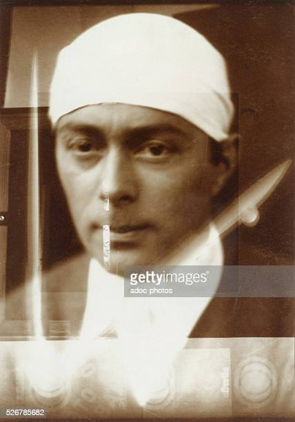 SelfPortrait of the Russian artist El Lissitzky In 1924