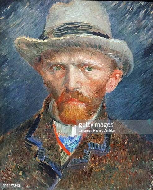 SelfPortrait of Vincent van Gogh Dutch PostImpressionist painter Dated 1887