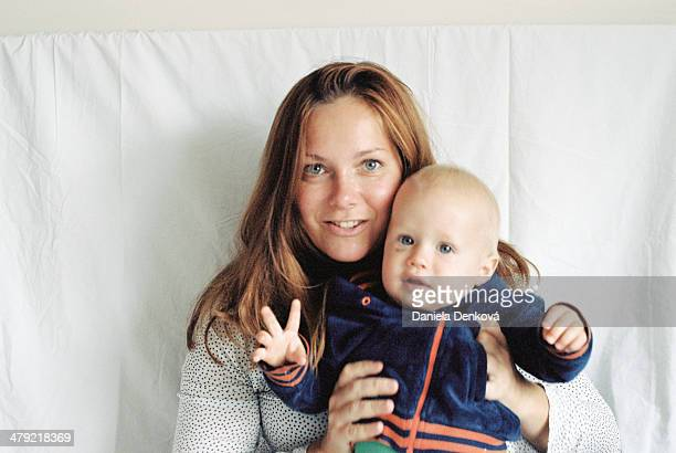self-portrait with baby boy