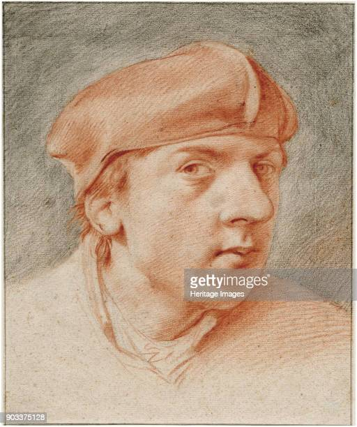 Selfportrait with Beret Found in the Collection of Het Rembrandthuis Amsterdam