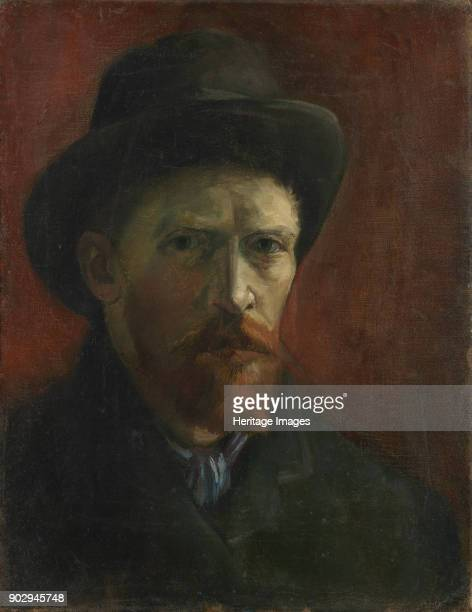 SelfPortrait with Felt Hat Found in the Collection of Van Gogh Museum Amsterdam