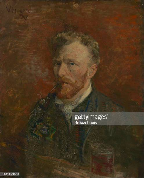SelfPortrait with Glass Found in the Collection of Van Gogh Museum Amsterdam