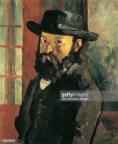 SelfPortrait with hat by Paul Cezanne 61x50 cm Bern Kunstmuseum