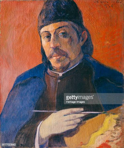 Self-portrait with Palette. Private Collection.