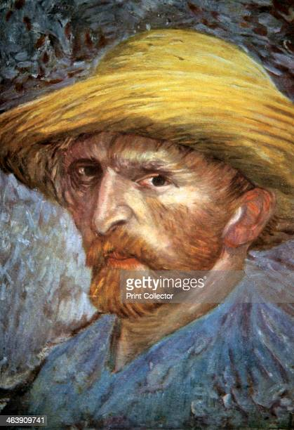 'SelfPortrait with Straw Hat' 1887