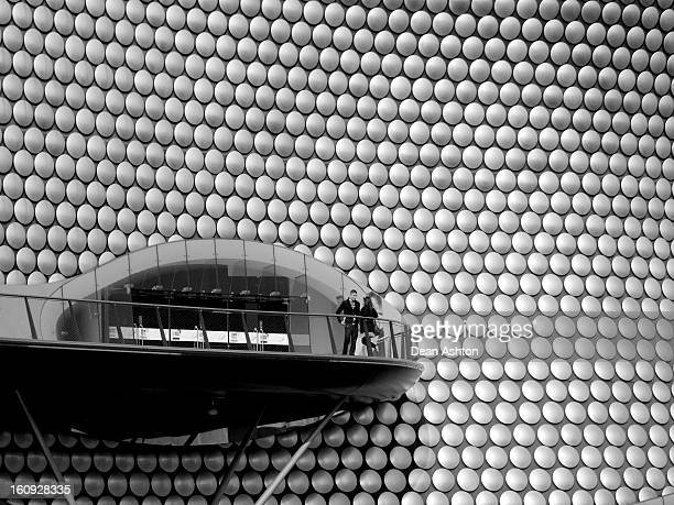 Selfridges Building, Modern Architecture at the Bullring Shopping Centre, Birmingham City, UK