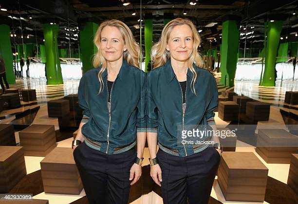 Selfridges creative director Alannah Weston poses for a photograph as she launches the Festival of Imagination in the Imaginarium designed by...