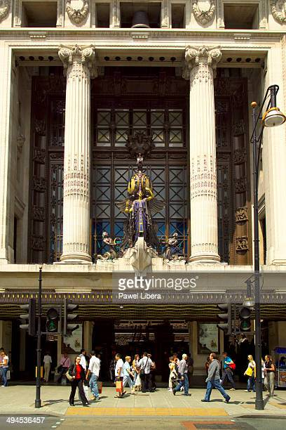 Selfridges Department Store in Oxford Street in London
