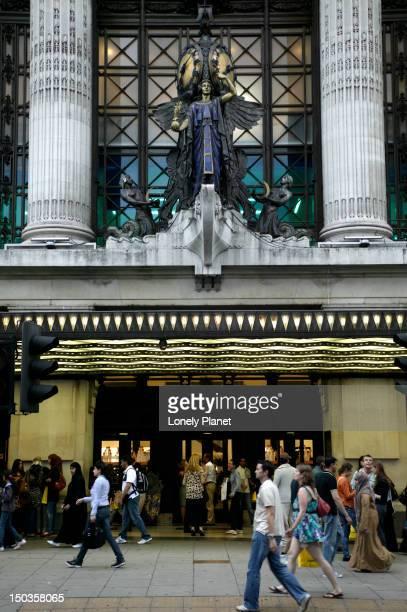 Selfridges department store, Oxford Street.
