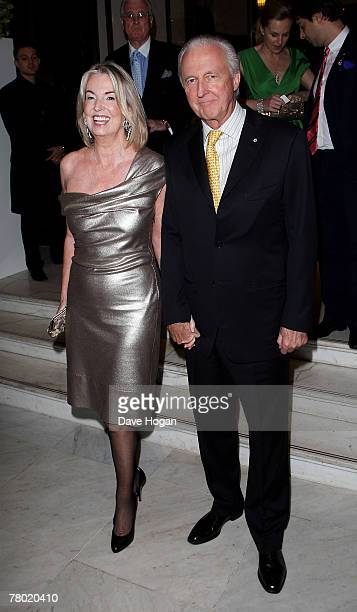 Selfridges owner Galen Weston and his wife Hilary arrive at the launch party for 'The Wonder Room' at Selfridges store on November 20 2007 in London...