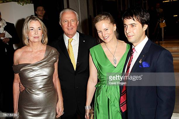 Selfridges owner Galen Weston his wife Hilary daughter and Creative Director for Selfridges Alannah Weston and her husband attend the launch party...