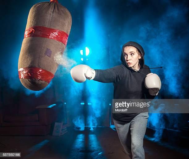 Capacitación de boxeo