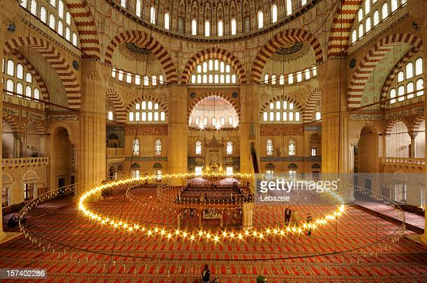 seliimiye mosque / edirne - selimiye mosque stock pictures, royalty-free photos & images