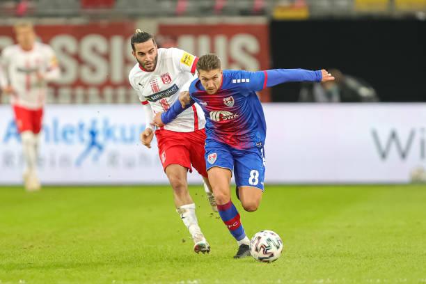 DEU: KFC Uerdingen v Hallescher FC - 3. Liga