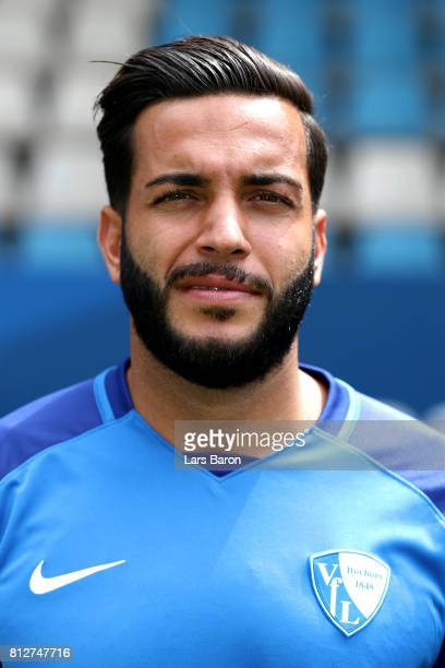 Selim Guenduez of VfL Bochum poses during the team presentation at Vonovia Ruhrstadion on July 11 2017 in Bochum Germany