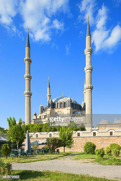 selimiye mosque, edirne, eastern thrace, turkey - selimiye mosque stock pictures, royalty-free photos & images