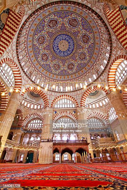 selimiye mosque, edirne - edirne stock pictures, royalty-free photos & images